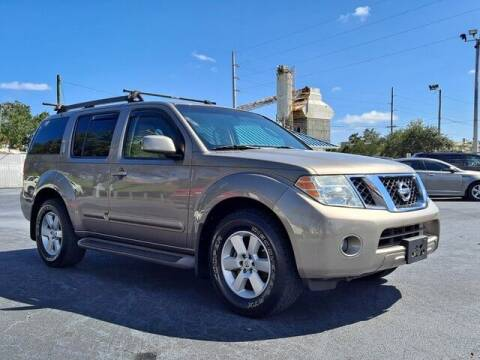 2009 Nissan Pathfinder for sale at Select Autos Inc in Fort Pierce FL