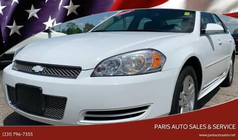 2014 Chevrolet Impala Limited for sale at Paris Auto Sales & Service in Big Rapids MI