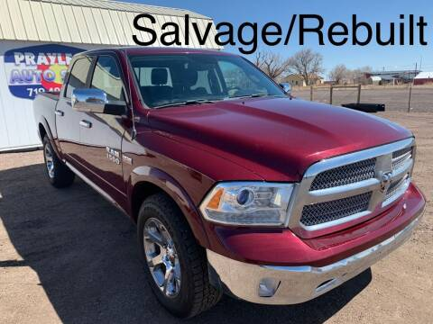 2018 RAM Ram Pickup 1500 for sale at Praylea's Auto Sales in Peyton CO