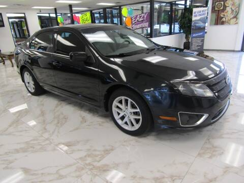 2012 Ford Fusion for sale at Dealer One Auto Credit in Oklahoma City OK