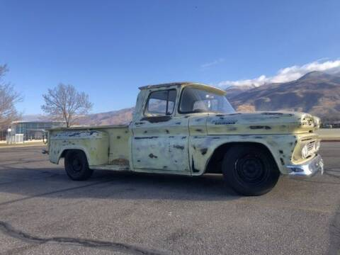 1961 Chevrolet C/K 20 Series for sale at Classic Car Deals in Cadillac MI