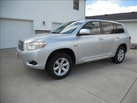 2008 Toyota Highlander for sale at OLSON AUTO EXCHANGE LLC in Stoughton WI