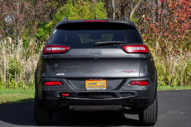 2018 Jeep Cherokee 4x4 Trailhawk 4dr SUV - Frederick MD
