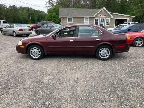 2001 Nissan Maxima for sale at MIKE B CARS LTD in Hammonton NJ