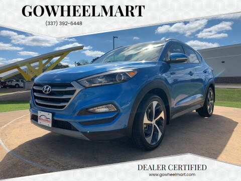 2018 Hyundai Tucson for sale at GOWHEELMART in Leesville LA