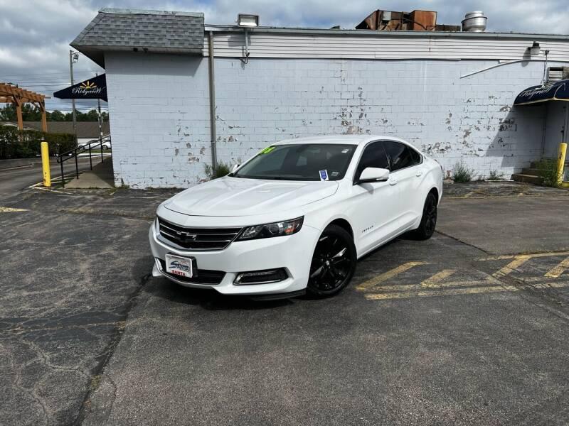2018 Chevrolet Impala for sale at Santa Motors Inc in Rochester NY