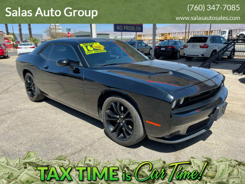 2016 Dodge Challenger for sale at Salas Auto Group in Indio CA