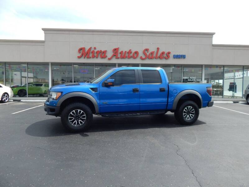 2012 Ford F-150 for sale at Mira Auto Sales in Dayton OH
