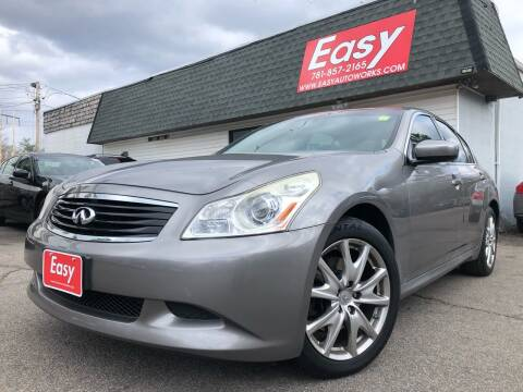 2009 Infiniti G37 Sedan for sale at Easy Autoworks & Sales in Whitman MA