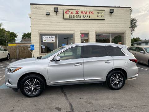 2016 Infiniti QX60 for sale at C & S SALES in Belton MO