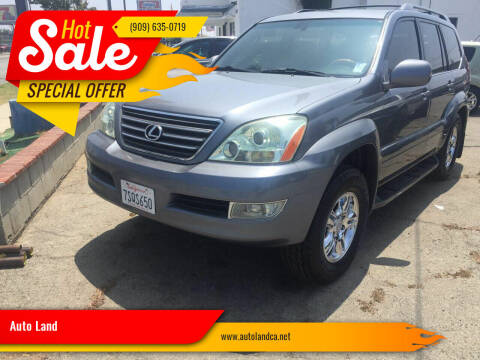 2005 Lexus GX 470 for sale at Auto Land in Ontario CA