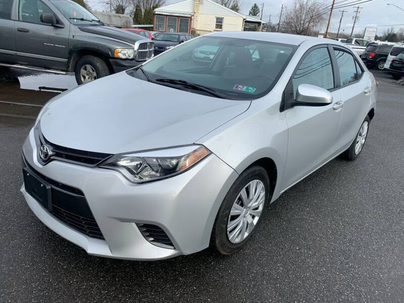 2016 Toyota Corolla for sale at Sam's Auto in Akron PA