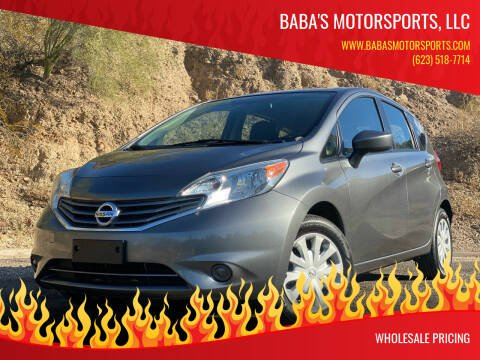 2016 Nissan Versa Note for sale at Baba's Motorsports, LLC in Phoenix AZ