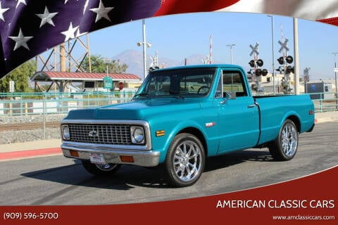 1972 Chevrolet C/K 10 Series for sale at American Classic Cars in La Verne CA