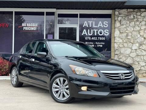 2012 Honda Accord for sale at ATLAS AUTOS in Marietta GA