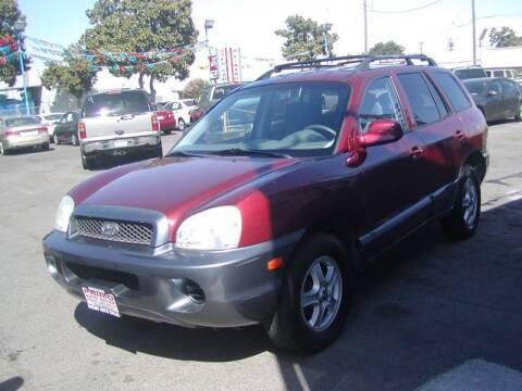 2004 Hyundai Santa Fe for sale at Primo Auto Sales in Merced CA