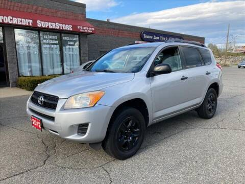 2012 Toyota RAV4 for sale at AutoCredit SuperStore in Lowell MA