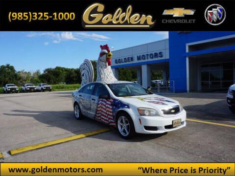 2011 Chevrolet Caprice for sale at GOLDEN MOTORS in Cut Off LA