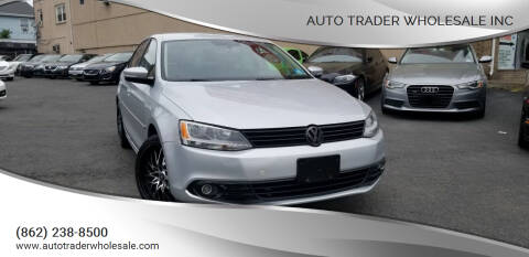 2011 Volkswagen Jetta for sale at Auto Trader Wholesale Inc in Saddle Brook NJ