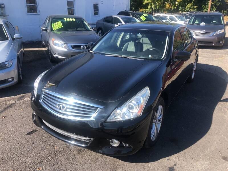2011 Infiniti G25 Sedan for sale at Washington Auto Repair in Washington NJ