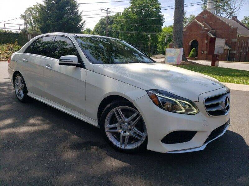 2014 Mercedes-Benz E-Class for sale at McAdenville Motors in Gastonia NC