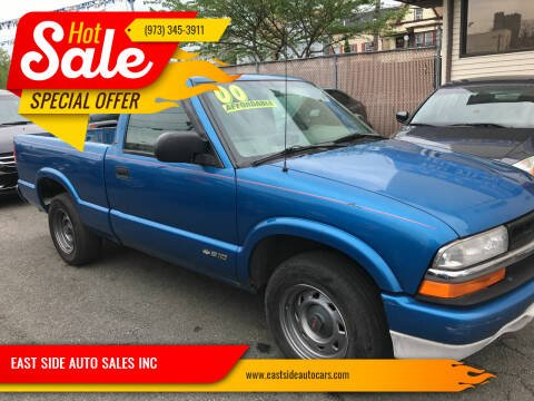 2000 Chevrolet S-10 for sale at EAST SIDE AUTO SALES INC in Paterson NJ