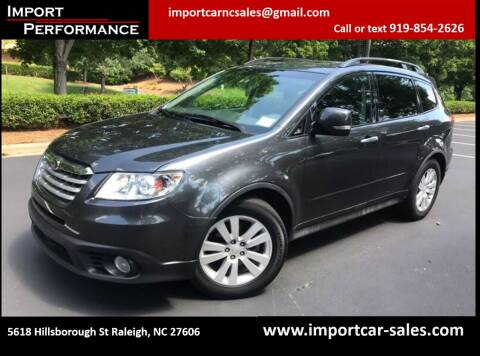 2009 Subaru Tribeca for sale at Import Performance Sales in Raleigh NC