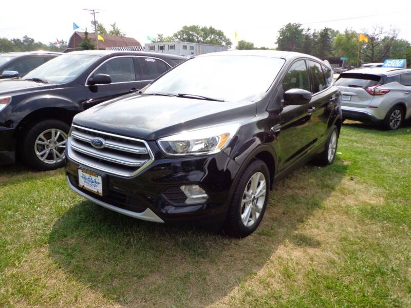 2017 Ford Escape for sale at North American Credit Inc. in Waukegan IL