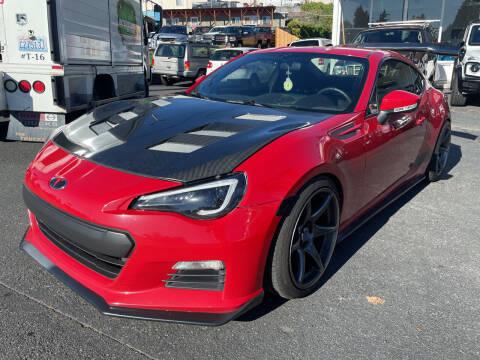 2015 Subaru BRZ for sale at APX Auto Brokers in Edmonds WA