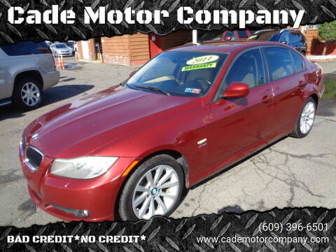 2011 BMW 3 Series for sale at Cade Motor Company in Lawrenceville NJ
