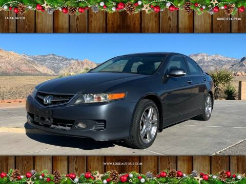 2006 Acura TSX for sale at LUXE Autos in Las Vegas NV
