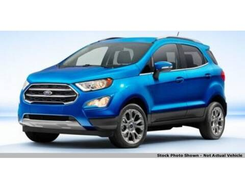 2019 Ford EcoSport for sale at Jeff Drennen GM Superstore in Zanesville OH