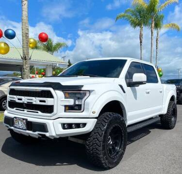 2018 Ford F-150 for sale at PONO'S USED CARS in Hilo HI