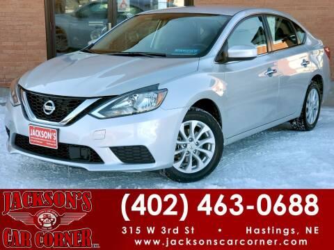 2019 Nissan Sentra for sale at Jacksons Car Corner Inc in Hastings NE