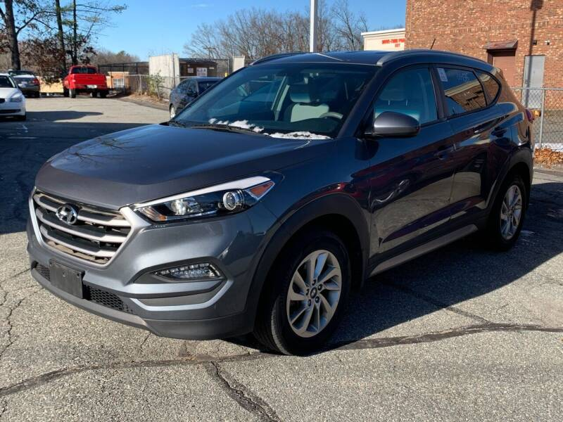 2017 Hyundai Tucson for sale at Ludlow Auto Sales in Ludlow MA