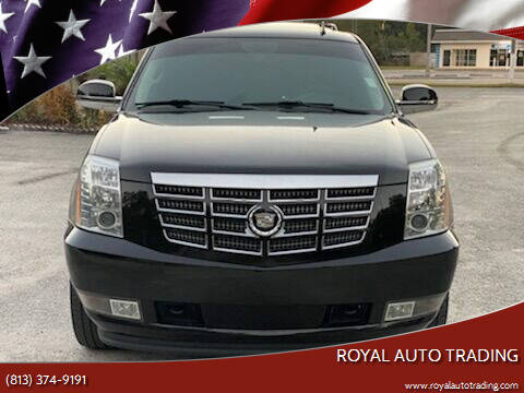 2012 Cadillac Escalade for sale at Royal Auto Mart in Tampa FL