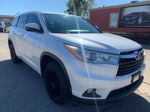 2014 Toyota Highlander for sale at JAVY AUTO SALES in Houston TX