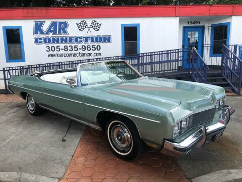 1973 Chevrolet Caprice for sale at Kar Connection in Miami FL