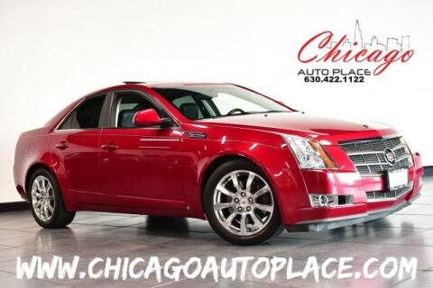 2008 Cadillac CTS for sale at Chicago Auto Place in Bensenville IL