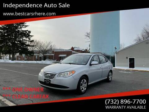 2010 Hyundai Elantra for sale at Independence Auto Sale in Bordentown NJ