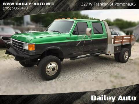 1989 Ford F-350 for sale at Bailey Auto in Pomona KS