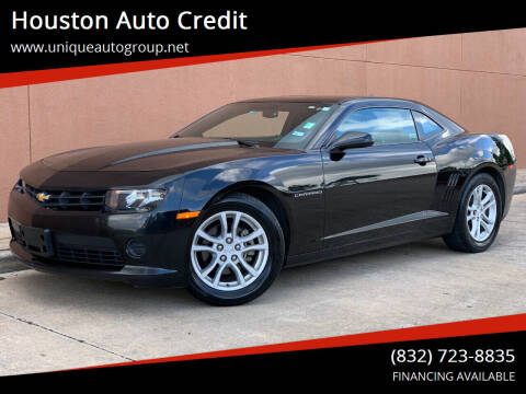 2014 Chevrolet Camaro for sale at Houston Auto Credit in Houston TX
