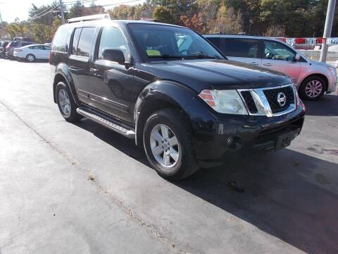 2009 Nissan Pathfinder for sale at MATTESON MOTORS in Raynham MA
