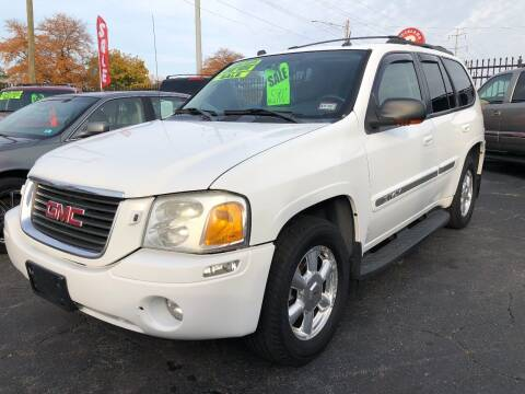2005 GMC Envoy for sale at RJ AUTO SALES in Detroit MI