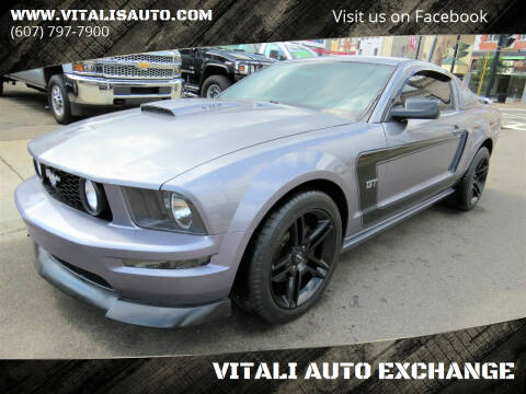 2007 Ford Mustang for sale at VITALI AUTO EXCHANGE in Johnson City NY