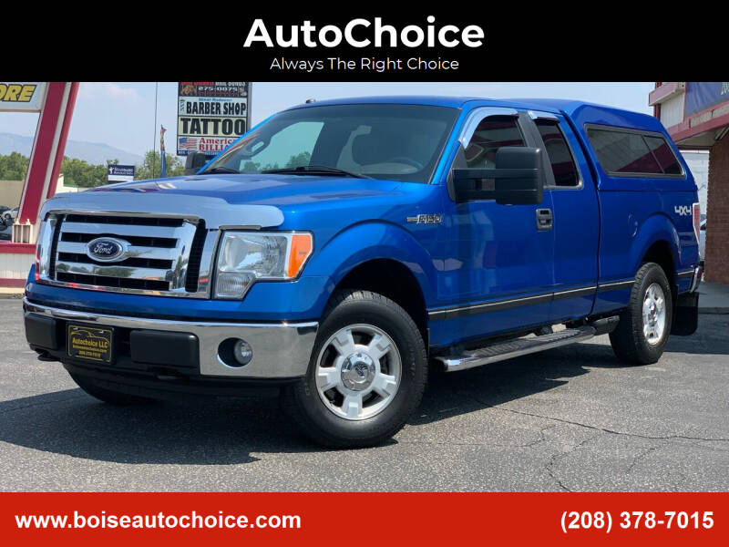 2010 Ford F-150 for sale at AutoChoice in Boise ID