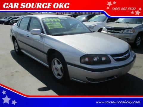 2000 Chevrolet Impala for sale at CAR SOURCE OKC in Oklahoma City OK