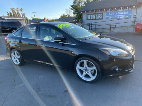 2014 Ford Focus for sale at Blue Diamond Auto Sales in Ceres CA