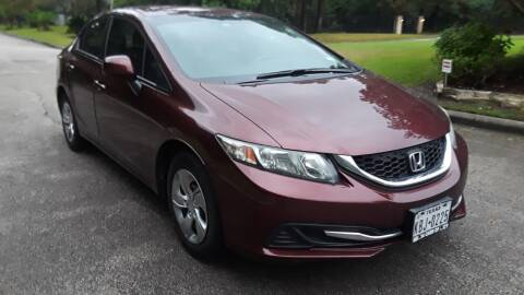 2013 Honda Civic for sale at Frontline Select in Houston TX