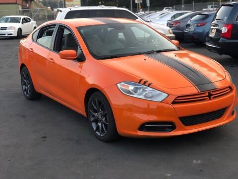 2013 Dodge Dart for sale at ALHAMADANI AUTO SALES in Spanaway WA